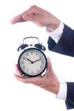 Προστατεύστε το ρολόι συναγερμών Στοκ Εικόνες
