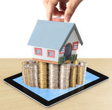 Προστατεύστε το σπίτι σας διαθέσιμο απεικόνιση αποθεμάτων