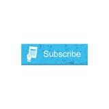 Προσυπογράψτε το κουμπί ορθογωνίων Στοκ φωτογραφία με δικαίωμα ελεύθερης χρήσης