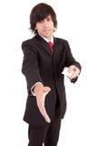 προσφορά ατόμων επαγγελματικών καρτών στοκ εικόνα με δικαίωμα ελεύθερης χρήσης