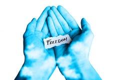 προσφορά ελευθερίας Στοκ Φωτογραφία
