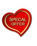 προσφορά καρδιών ειδική Στοκ φωτογραφία με δικαίωμα ελεύθερης χρήσης