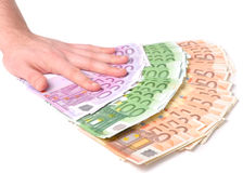 προσφορά χρημάτων Στοκ φωτογραφία με δικαίωμα ελεύθερης χρήσης