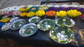 Προσφορά puja Bodhi στοκ φωτογραφία