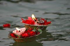 προσφορές κεριών Στοκ Φωτογραφίες