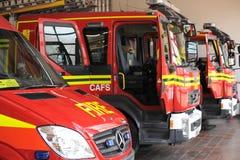 Προσφορές πυρκαγιάς στην εφεδρεία Στοκ Φωτογραφίες