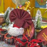 Προσφορές στο Βούδα στοκ φωτογραφία με δικαίωμα ελεύθερης χρήσης