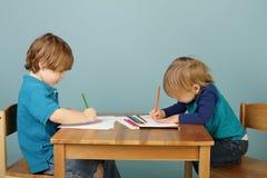 Προσχολική εκπαίδευση παιδιών Στοκ φωτογραφία με δικαίωμα ελεύθερης χρήσης