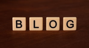 Προσωπικός τίτλος Blog Κοινωνική έννοια δικτύωσης στοκ εικόνες με δικαίωμα ελεύθερης χρήσης