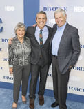 Προσωπικότητα Andy Cohen TV και οι γονείς του Στοκ Φωτογραφίες
