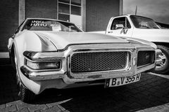 Προσωπικό αυτοκίνητο Oldsmobile Toronado, 1968 πολυτέλειας φυσικού μεγέθους Στοκ Εικόνα