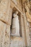 Προσωποποίηση της αρετής, άγαλμα Arete στην αρχαία πόλη Ephesus Στοκ φωτογραφίες με δικαίωμα ελεύθερης χρήσης