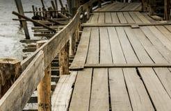 Προσωρινός ξύλινος Στοκ εικόνα με δικαίωμα ελεύθερης χρήσης