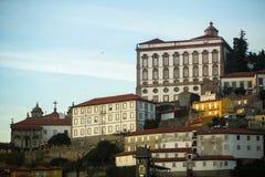 Προσόψεις των κτηρίων στην παλαιά πόλη του Πόρτο, Στοκ φωτογραφίες με δικαίωμα ελεύθερης χρήσης
