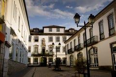 Προσόψεις Lamego Πορτογαλία στοκ φωτογραφία
