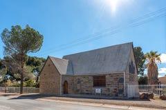 Προτεσταντική Εκκλησία αφρικανολλανδικής σε Fraserburg στο βόρειο ακρωτήριο στοκ εικόνες