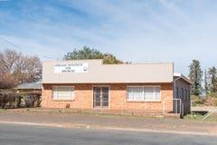 Προτεσταντική Εκκλησία αφρικανολλανδικής σε Griekwastad στοκ εικόνες