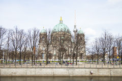 Προτεσταντικός καθεδρικός ναός στο Βερολίνο Στοκ Εικόνες