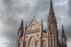 Προτεσταντικός ναός Saint-$l*Etienne στη Μυλούζ Στοκ εικόνα με δικαίωμα ελεύθερης χρήσης