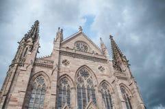 Προτεσταντικός ναός Saint-$l*Etienne στη Μυλούζ Στοκ φωτογραφίες με δικαίωμα ελεύθερης χρήσης