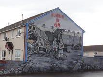 Προτεσταντικός τοίχος στο Μπέλφαστ Στοκ φωτογραφίες με δικαίωμα ελεύθερης χρήσης