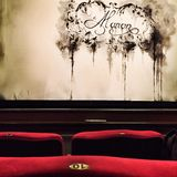 Προτού να αυξηθεί η κουρτίνα στην εθνική Όπερα του Βουκουρεστι'ου Στοκ Εικόνες