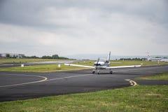 Προωστήρας αερολιμένων Winningen απογείωσης αεροπλάνων Στοκ φωτογραφία με δικαίωμα ελεύθερης χρήσης