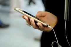 ΠΡΟΪΟΝ IPHONE ΤΗΣ APPLE Στοκ φωτογραφία με δικαίωμα ελεύθερης χρήσης