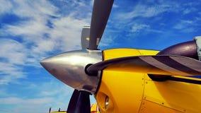 Προϊστάμενος δασοπυροσβεστών Airtractor στοκ φωτογραφία