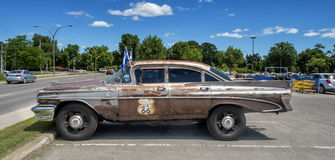 προϊστάμενος strato Pontiac του 1959 Στοκ φωτογραφία με δικαίωμα ελεύθερης χρήσης