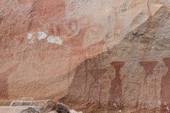 Προϊστορική ζωγραφική βράχου Στοκ Εικόνες