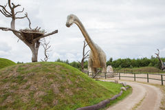 Προϊστορικός δεινόσαυρος Στοκ εικόνα με δικαίωμα ελεύθερης χρήσης
