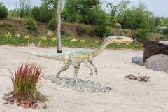 Προϊστορικός δεινόσαυρος Στοκ Εικόνες