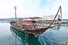 προϊστορικό σκάφος αντιγράφων argo Στοκ φωτογραφία με δικαίωμα ελεύθερης χρήσης