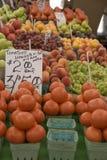 προϊόντα αγοράς αγροτών Στοκ φωτογραφία με δικαίωμα ελεύθερης χρήσης