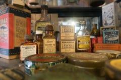Προϊόντα από τις ημέρες πρωτοπόρων στοκ φωτογραφίες