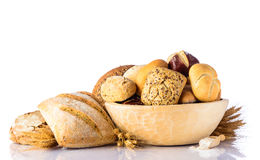 προϊόντα εικόνας σχεδίου αρτοποιείων Στοκ Φωτογραφία