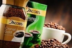 Προϊόντα καφέ Jacobs Douwe Egberts Στοκ φωτογραφίες με δικαίωμα ελεύθερης χρήσης
