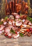 Προϊόντα κρέατος χοιρινού κρέατος Στοκ Εικόνα