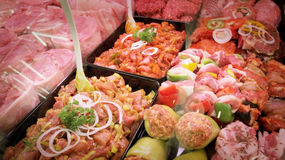 προϊόντα κρέατος Στοκ Φωτογραφία