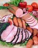 προϊόντα κρέατος Στοκ Εικόνες