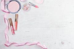 Προϊόντα ομορφιάς Makeup Στοκ Εικόνες
