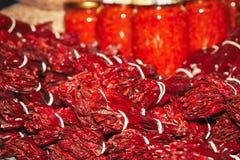 Προϊόντα πιπεριών Στοκ φωτογραφία με δικαίωμα ελεύθερης χρήσης