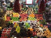 Προϊόντα που επιδεικνύονται στην αγορά Στοκ φωτογραφίες με δικαίωμα ελεύθερης χρήσης