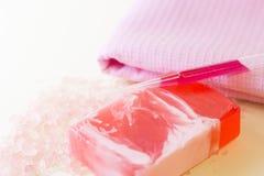 Προϊόντα πρώτης ανάγκης Aromatherapy καθορισμένα Στοκ φωτογραφίες με δικαίωμα ελεύθερης χρήσης