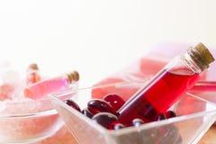 Προϊόντα πρώτης ανάγκης Aromatherapy καθορισμένα Στοκ εικόνες με δικαίωμα ελεύθερης χρήσης