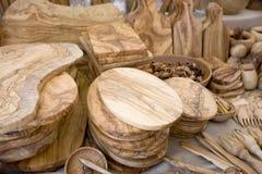 προϊόντα τεχνών ξύλινα Στοκ εικόνα με δικαίωμα ελεύθερης χρήσης