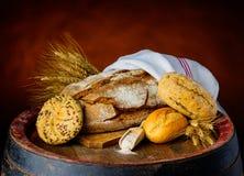 Προϊόντα ψωμιού και δημητριακών Στοκ Εικόνα