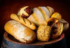 Προϊόντα ψωμιού και δημητριακών Στοκ εικόνες με δικαίωμα ελεύθερης χρήσης