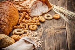 Προϊόντα ψωμιού Στοκ Εικόνα